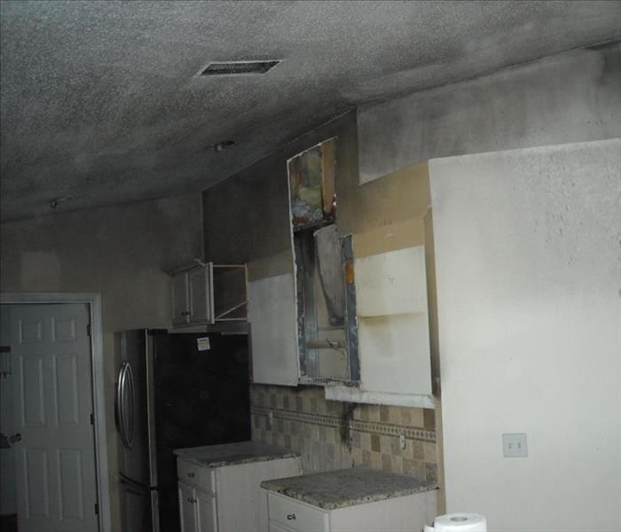 Kitchen Fire in Macon, GA. Before