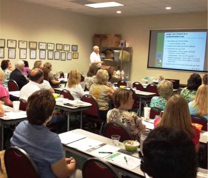 SERVPRO of Macon hosts Insurance CE Classes