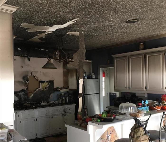 Kitchen Grease Fire