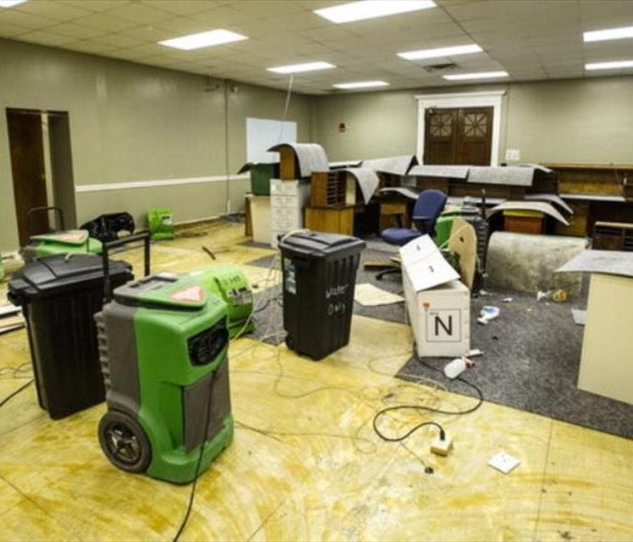 Courthouse Chaos...No Match for SERVPRO of Macon!